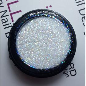 Glitter CS3. Biały-multikolor